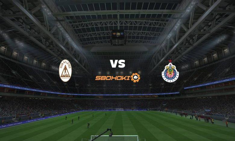 Live Streaming Atlas vs Chivas Guadalajara 25 April 2021 1