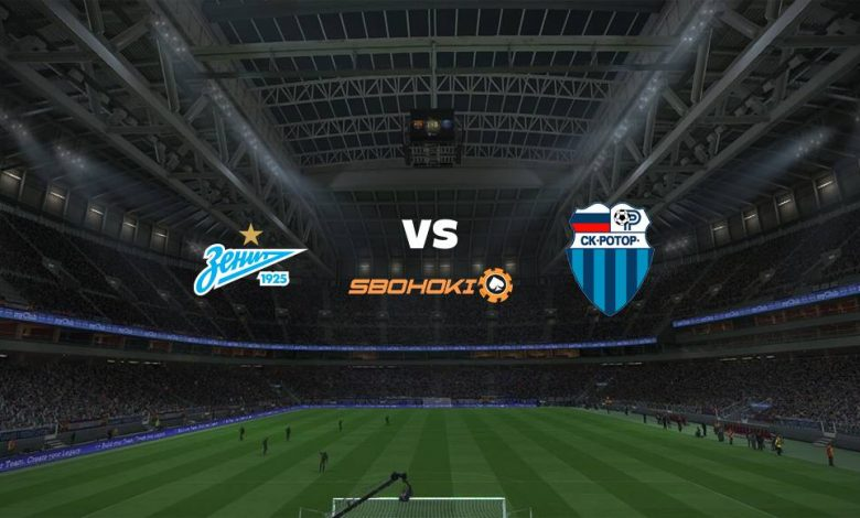 Live Streaming Zenit St Petersburg vs FC Rotor Volgograd 24 April 2021 1