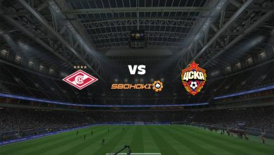 Photo of Live Streaming  Spartak Moscow vs CSKA Moscow 25 April 2021