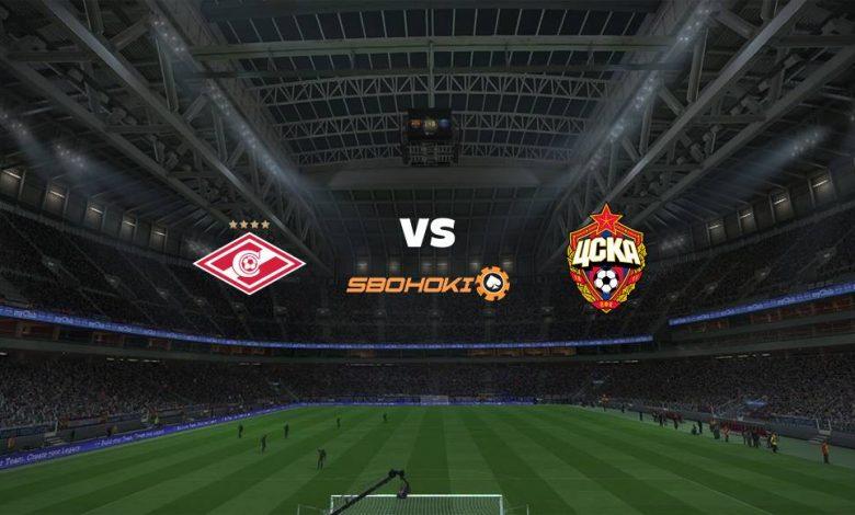 Live Streaming Spartak Moscow vs CSKA Moscow 25 April 2021 1