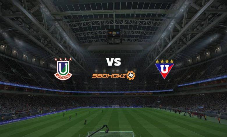 Live Streaming Unión La Calera vs Liga de Quito 22 April 2021 1