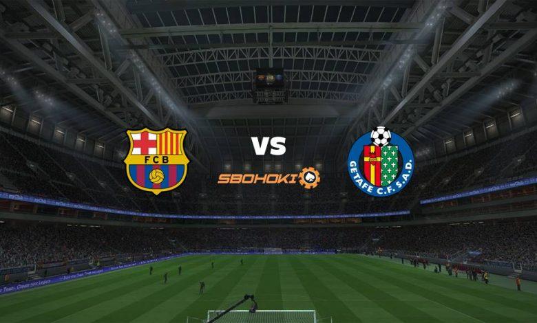 Live Streaming Barcelona vs Getafe 22 April 2021 1