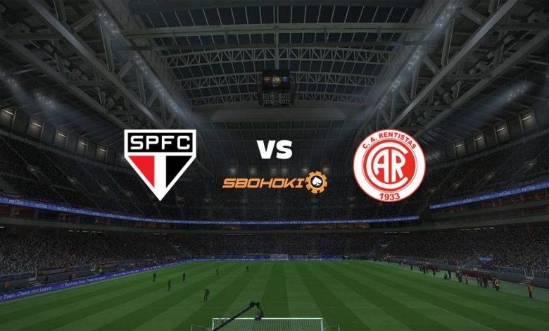 Live Streaming São Paulo vs Rentistas 30 April 2021 1