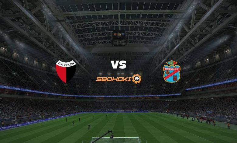 Live Streaming Colón (Santa Fe) vs Arsenal de Sarandí 1 Mei 2021 1