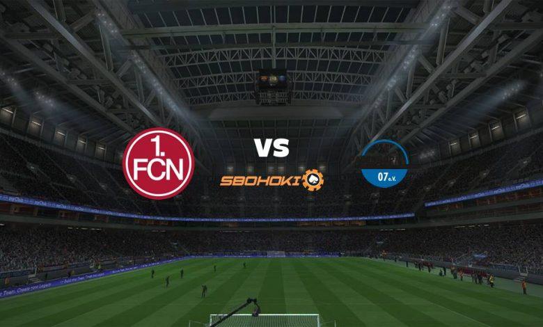 Live Streaming FC Nurnberg vs SC Paderborn 07 4 April 2021 1
