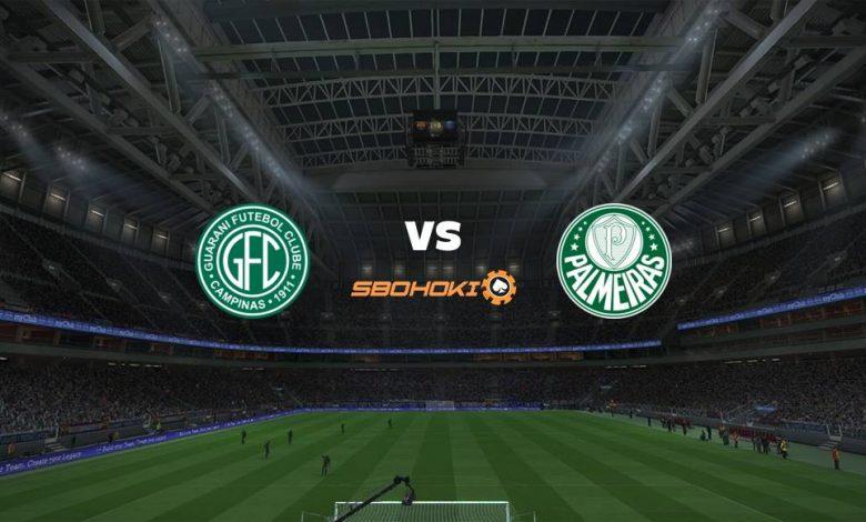 Live Streaming Guarani vs Palmeiras 23 April 2021 1