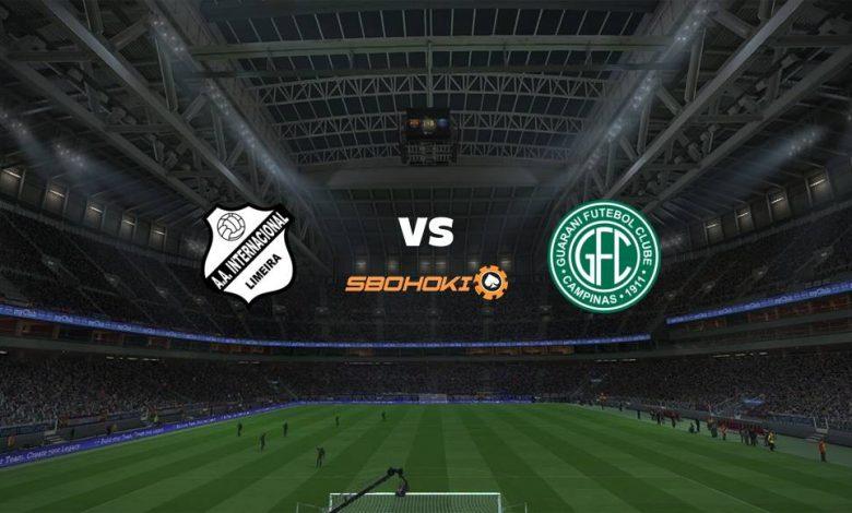 Live Streaming Inter de Limeira vs Guarani 25 April 2021 1