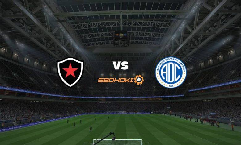 Live Streaming Botafogo PB vs Confiança 5 April 2021 1