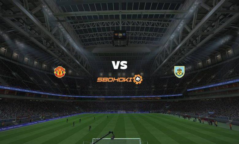 Live Streaming Manchester United vs Burnley 18 April 2021 1