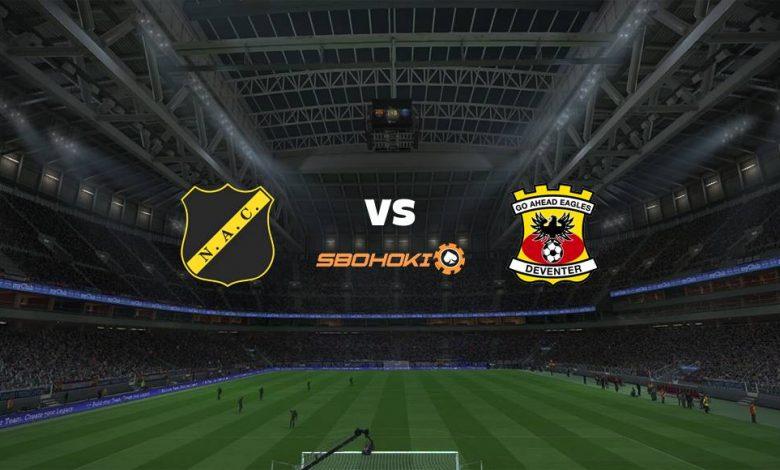 Live Streaming NAC Breda vs Go Ahead Eagles 5 April 2021 1