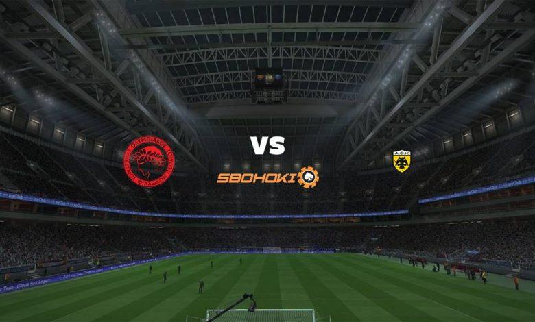 Live Streaming Olympiakos vs AEK Athens 25 April 2021 1