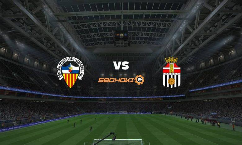 Live Streaming CD Sabadell vs FC Cartagena 11 April 2021 1