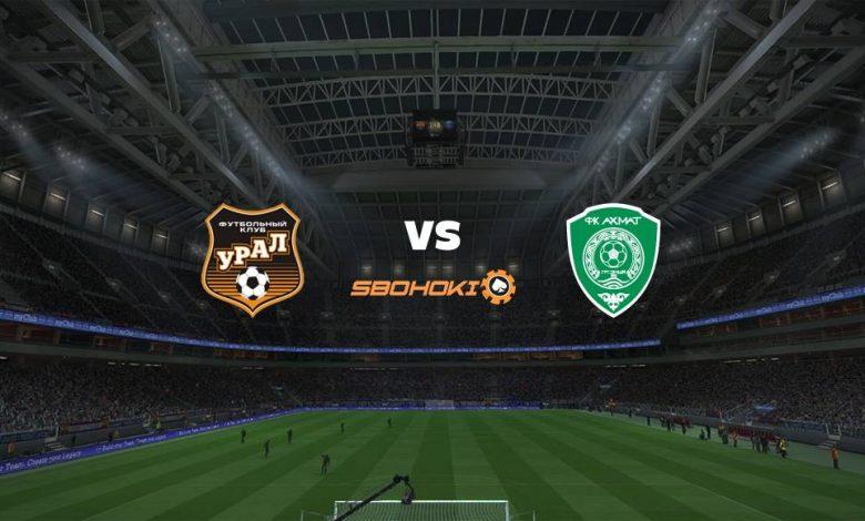 Live Streaming FC Ural Ekaterinburg vs Akhmat Grozny 24 April 2021 1