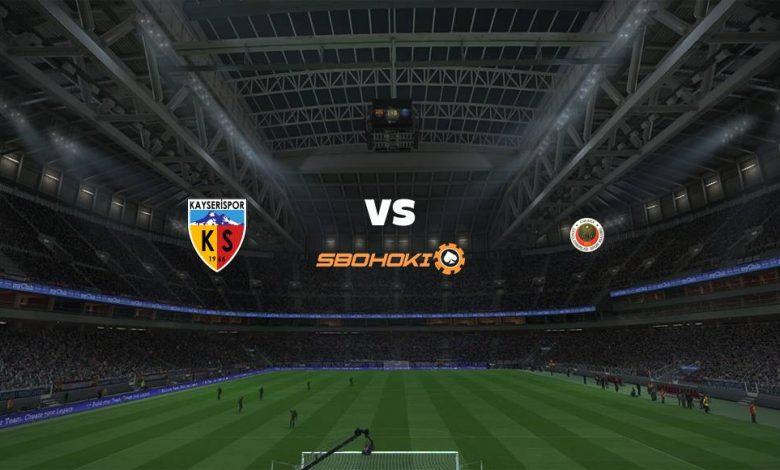 Live Streaming Kayserispor vs Genclerbirligi 20 April 2021 1