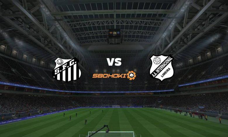 Live Streaming Santos vs Inter de Limeira 18 April 2021 1