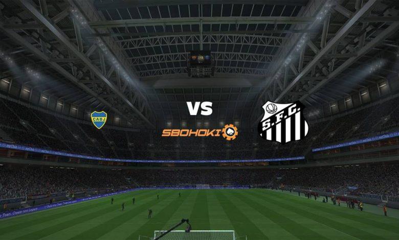 Live Streaming Boca Juniors vs Santos 28 April 2021 1