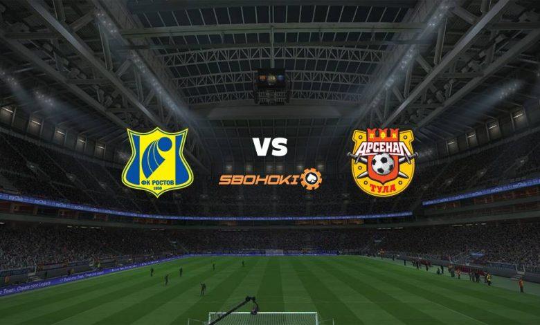 Live Streaming Rostov vs FC Arsenal Tula 25 April 2021 1