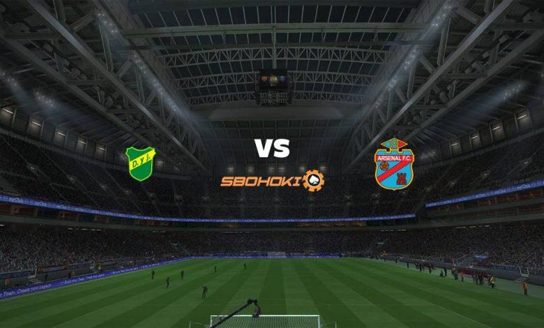 Live Streaming Defensa y Justicia vs Arsenal de Sarandí 25 April 2021 1