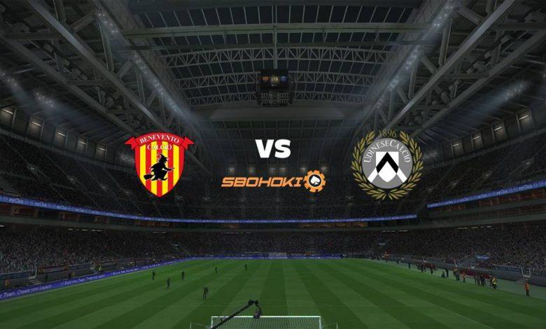Live Streaming Benevento vs Udinese 25 April 2021 1