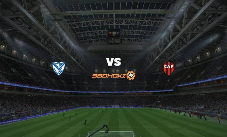 Live Streaming Vélez Sarsfield vs Patronato 30 April 2021 1