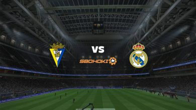 Photo of Live Streaming  Cádiz vs Real Madrid 21 April 2021