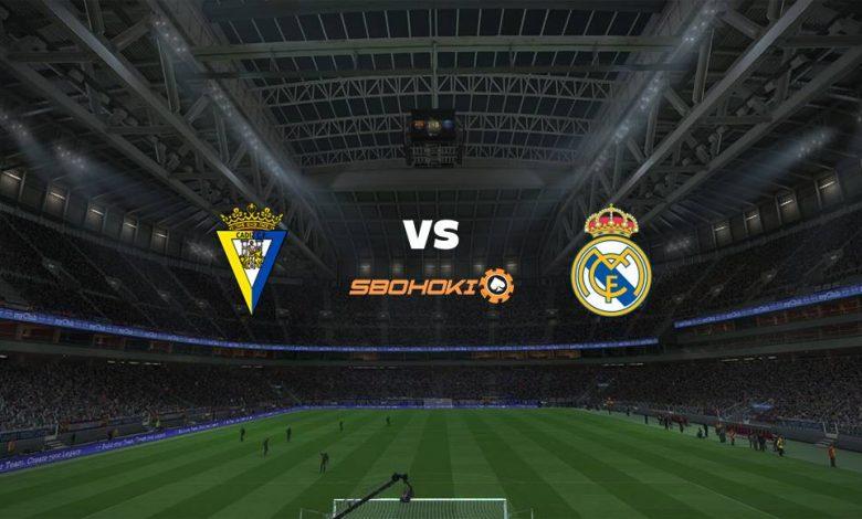 Live Streaming Cádiz vs Real Madrid 21 April 2021 1