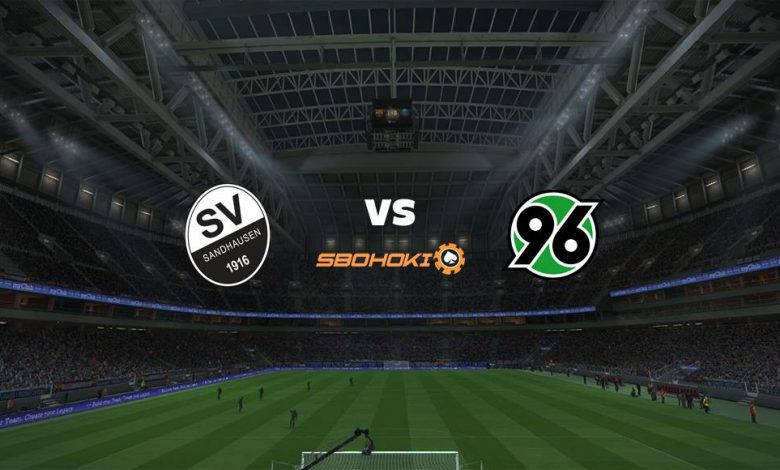 Live Streaming SV Sandhausen vs Hannover 96 25 April 2021 1