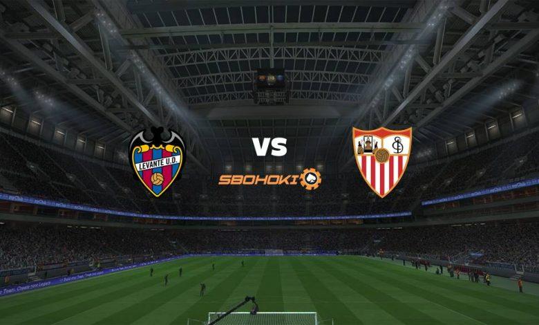 Live Streaming Levante vs Sevilla 21 April 2021 1