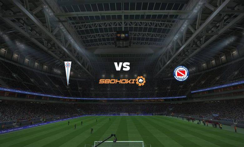 Live Streaming Universidad Católica vs Argentinos Juniors 29 April 2021 1