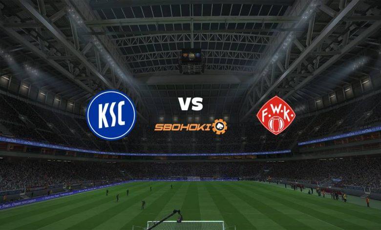 Live Streaming Karlsruher SC vs Würzburger Kickers 23 April 2021 1