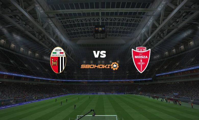 Live Streaming Ascoli vs Monza 10 April 2021 1