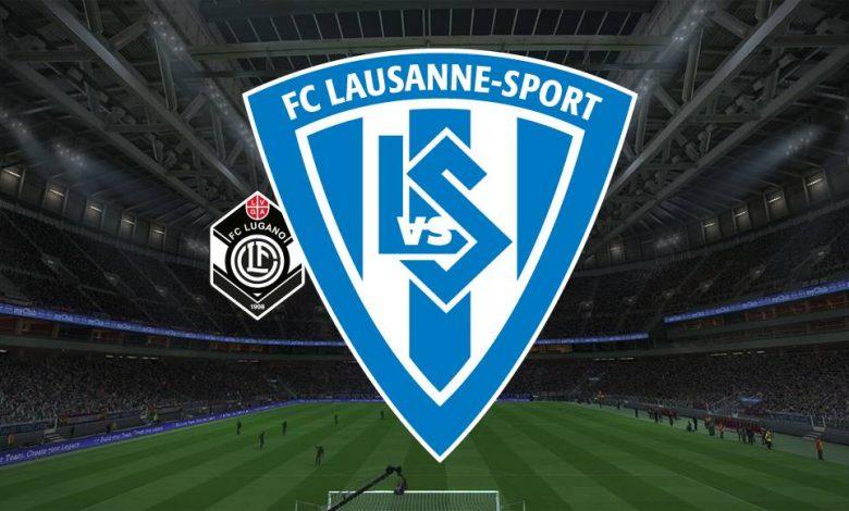 Live Streaming FC Lugano vs Lausanne Sports 10 April 2021 1