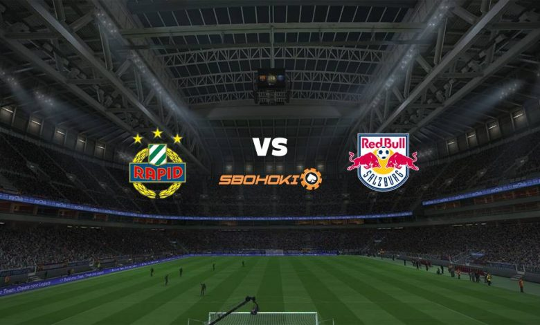 Live Streaming Rapid Vienna vs FC Salzburg 11 April 2021 1