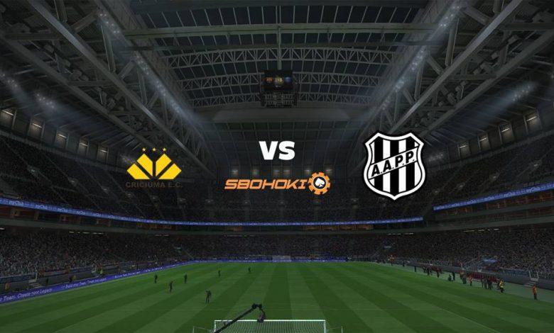 Live Streaming Criciúma vs Ponte Preta 8 April 2021 1