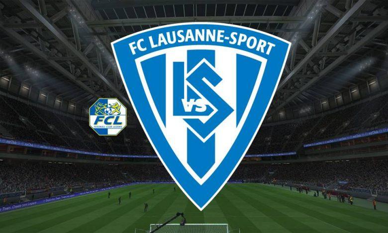 Live Streaming FC Luzern vs Lausanne Sports 21 April 2021 1