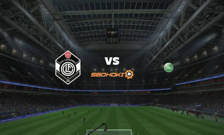 Live Streaming FC Lugano vs St Gallen 21 April 2021 1