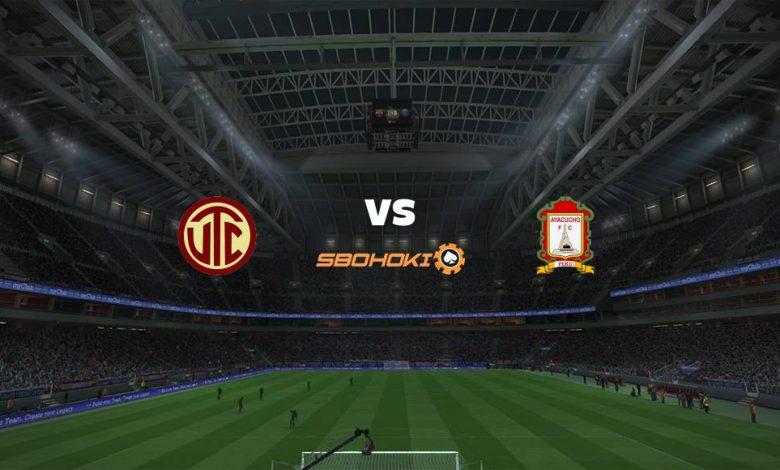 Live Streaming UTC vs Ayacucho FC 30 April 2021 1