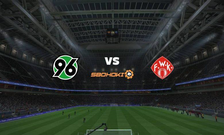 Live Streaming Hannover 96 vs Würzburger Kickers 8 April 2021 1