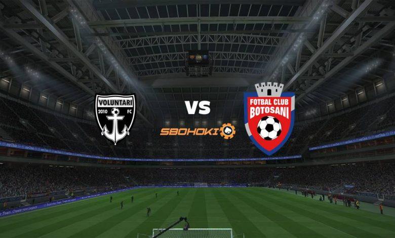 Live Streaming Voluntari vs FC Botosani 9 April 2021 1