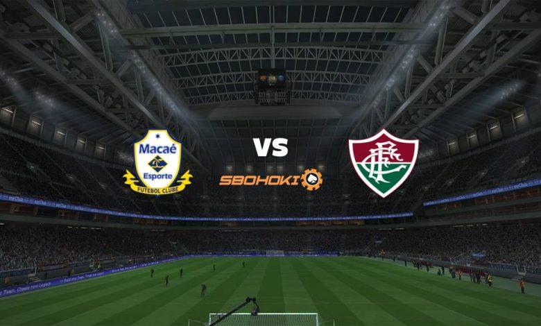Live Streaming Macaé vs Fluminense 7 April 2021 1