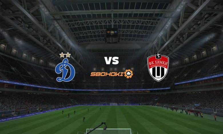 Live Streaming Dinamo Moscow vs FC Khimki 24 April 2021 1
