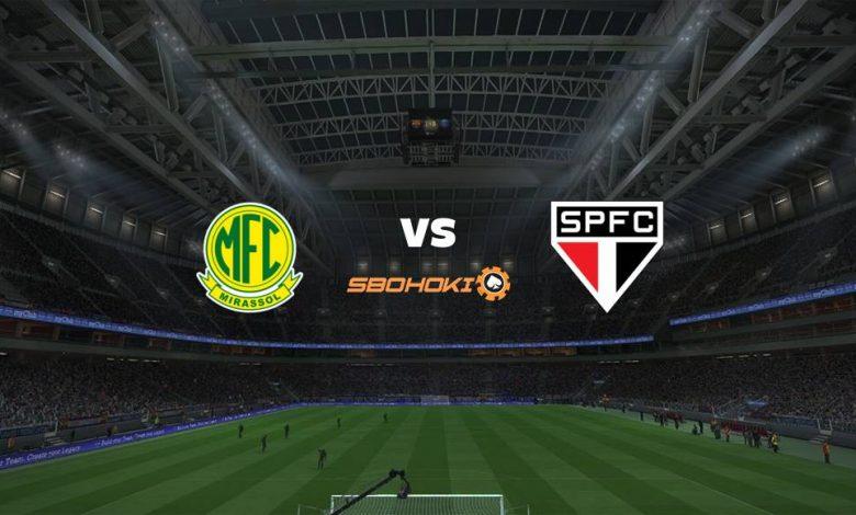 Live Streaming Mirassol vs São Paulo 25 April 2021 1
