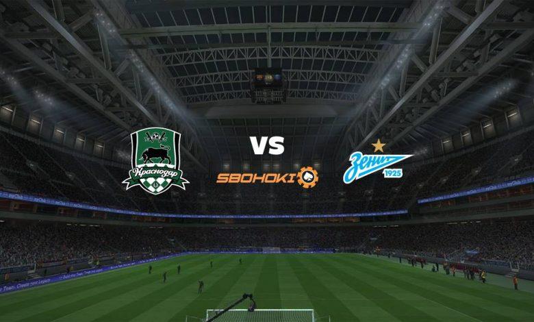 Live Streaming Krasnodar vs Zenit St Petersburg 17 April 2021 1