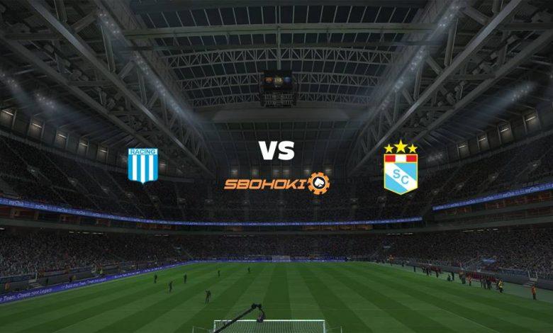 Live Streaming Racing Club vs Sporting Cristal 29 April 2021 1