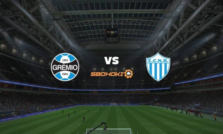 Live Streaming Grêmio vs Novo Hamburgo 18 April 2021 1