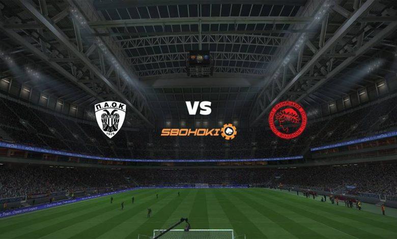 Live Streaming PAOK Salonika vs Olympiakos 18 April 2021 1