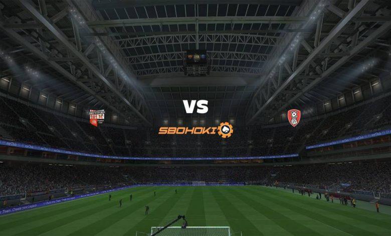 Live Streaming Brentford vs Rotherham United 27 April 2021 1