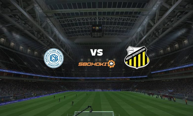 Live Streaming São Bento vs Novorizontino 28 April 2021 1