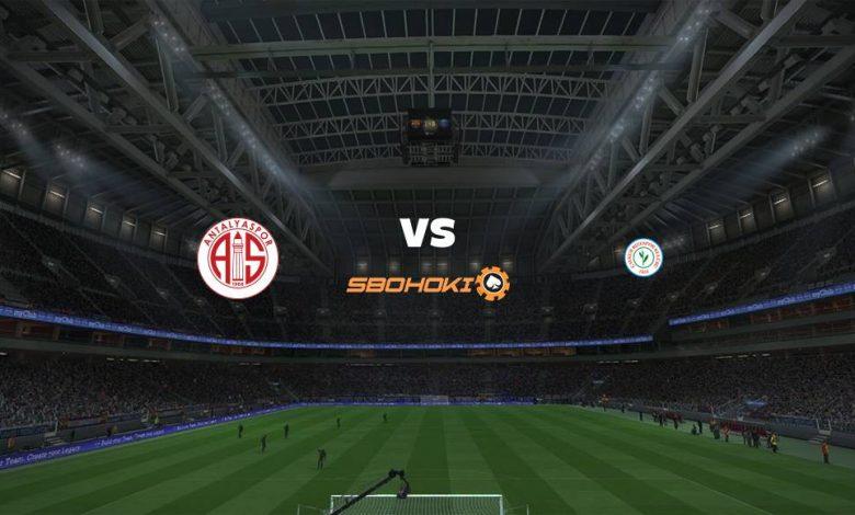 Live Streaming Antalyaspor vs Caykur Rizespor 16 April 2021 1