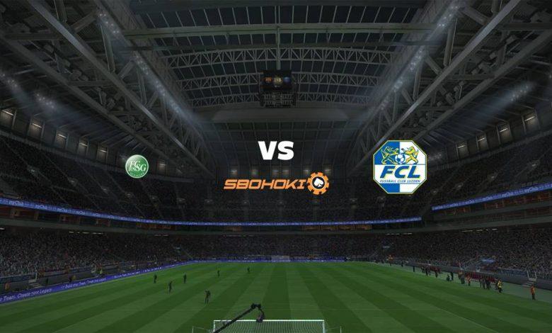 Live Streaming St Gallen vs FC Luzern 17 April 2021 1